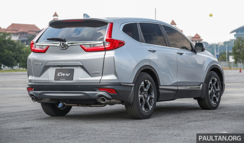 2017 Honda CR-V launched in Malaysia – three 1.5L Turbo, one 2.0L NA, priced from RM142k to RM168k Image #682128
