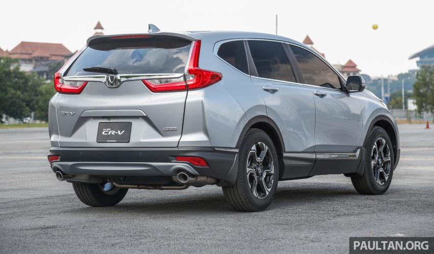Honda CR-V 2017 dilancar di M'sia – 3 varian 1.5L turbo dan 1 varian 2.0L N/A, harga RM142k-RM168k Image #681956