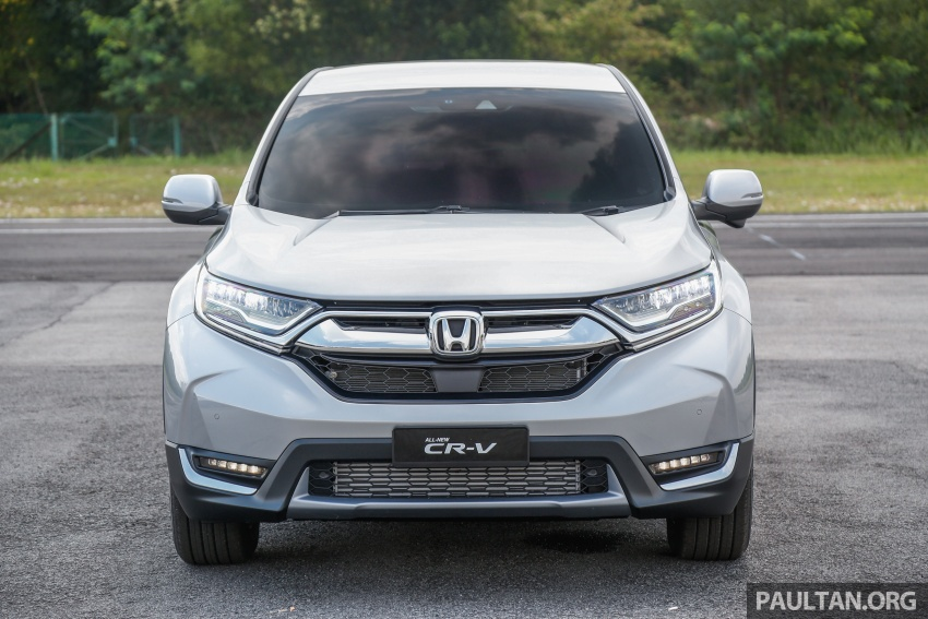 2017 Honda CR-V launched in Malaysia – three 1.5L Turbo, one 2.0L NA, priced from RM142k to RM168k Image #682129