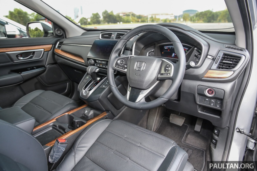 Honda CR-V 2017 dilancar di M'sia – 3 varian 1.5L turbo dan 1 varian 2.0L N/A, harga RM142k-RM168k Image #681977