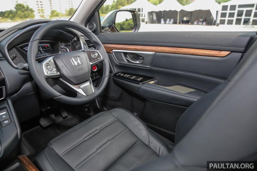 Honda CR-V 2017 dilancar di M'sia – 3 varian 1.5L turbo dan 1 varian 2.0L N/A, harga RM142k-RM168k Image #682000