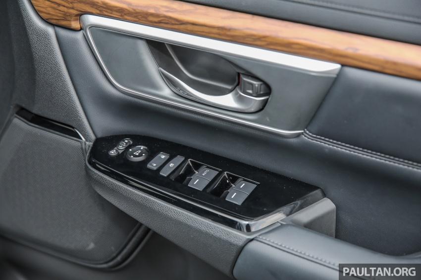 Honda CR-V 2017 dilancar di M'sia – 3 varian 1.5L turbo dan 1 varian 2.0L N/A, harga RM142k-RM168k Image #682006