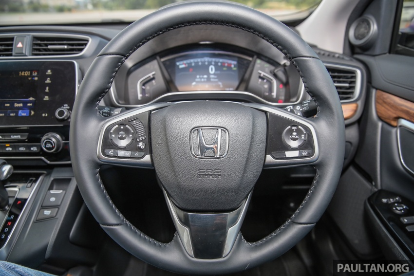 Honda CR-V 2017 dilancar di M'sia – 3 varian 1.5L turbo dan 1 varian 2.0L N/A, harga RM142k-RM168k Image #681979