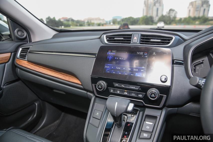 Honda CR-V 2017 dilancar di M'sia – 3 varian 1.5L turbo dan 1 varian 2.0L N/A, harga RM142k-RM168k Image #681981