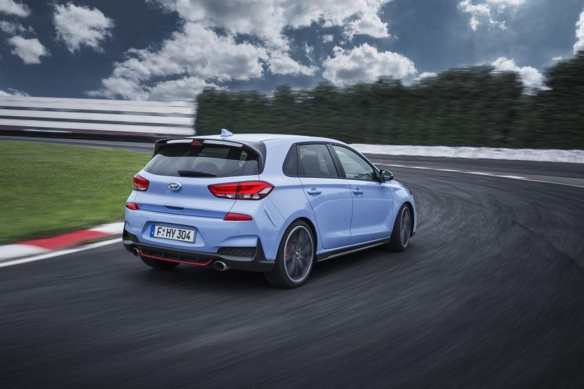 Hyundai i30 N akhirnya didedahkan – 2.0 liter turbo T-GDI 275 PS/353 Nm, manual 6-kelajuan, E-LSD Image #683147