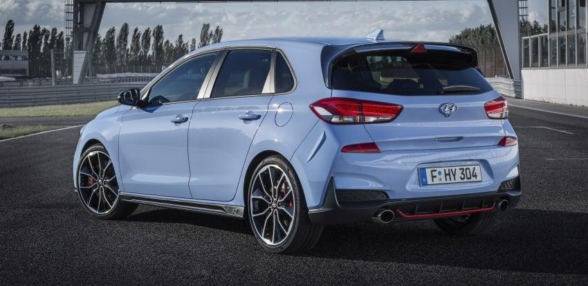 Hyundai i30 N akhirnya didedahkan – 2.0 liter turbo T-GDI 275 PS/353 Nm, manual 6-kelajuan, E-LSD Image #683153