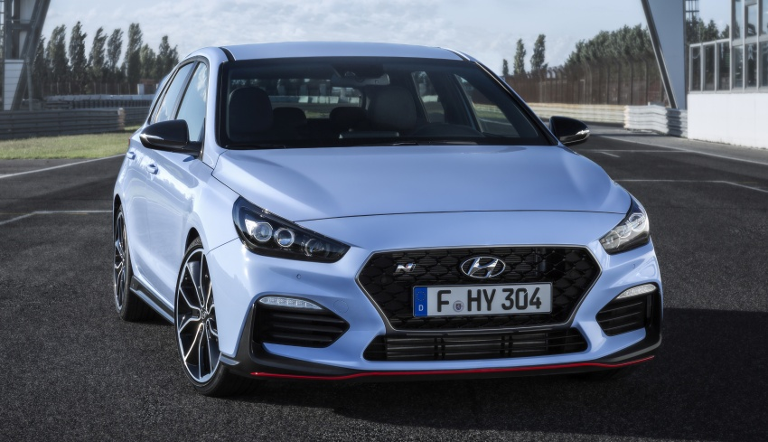 Hyundai i30 N – 275 PS and 353 Nm, six-speed manual Image #683088