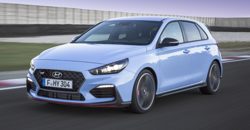 Hyundai i30 N – 275 PS and 353 Nm, six-speed manual Image #683072