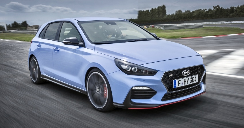 Hyundai i30 N – 275 PS and 353 Nm, six-speed manual Image #683073