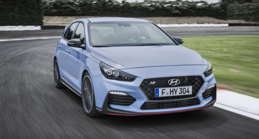 Hyundai i30 N – 275 PS and 353 Nm, six-speed manual Image #683074