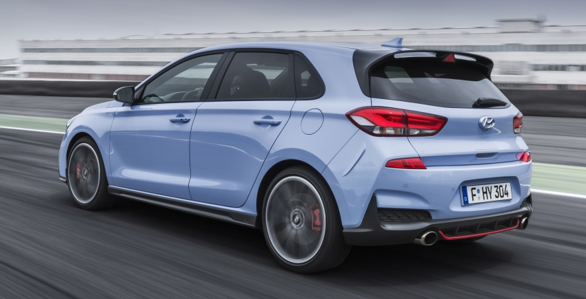 Hyundai i30 N akhirnya didedahkan – 2.0 liter turbo T-GDI 275 PS/353 Nm, manual 6-kelajuan, E-LSD Image #683142