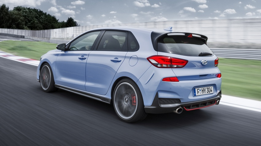 Hyundai i30 N – 275 PS and 353 Nm, six-speed manual Image #683078