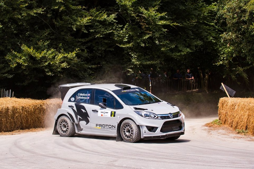 VIDEO: Proton Iriz R5 di Goodwood FOS Rally Stage Image #678350