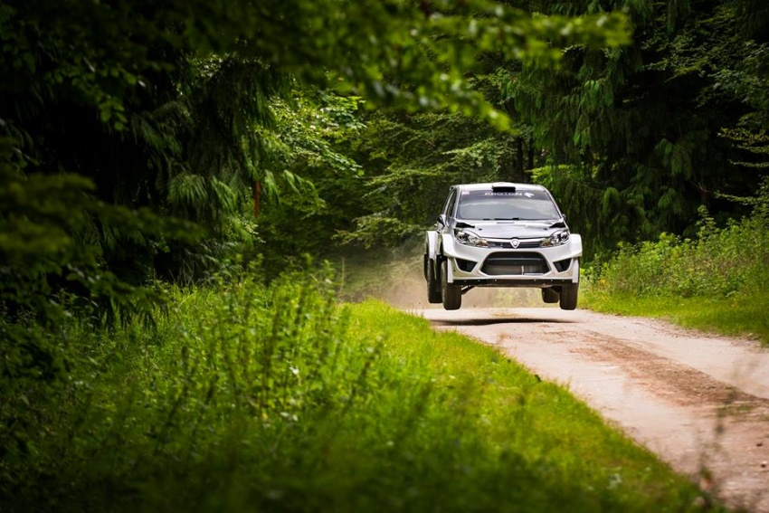 VIDEO: Proton Iriz R5 di Goodwood FOS Rally Stage Image #678347