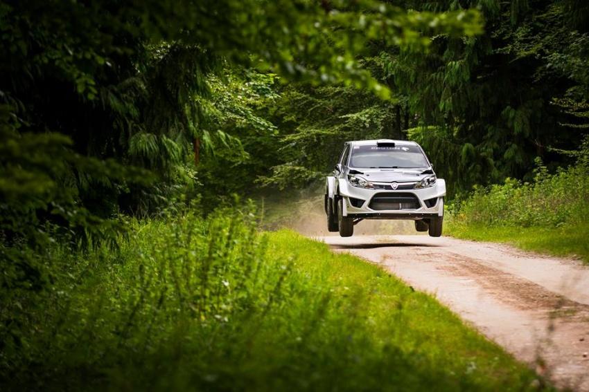 VIDEO: Proton Iriz R5 di Goodwood FOS Rally Stage Image #678347