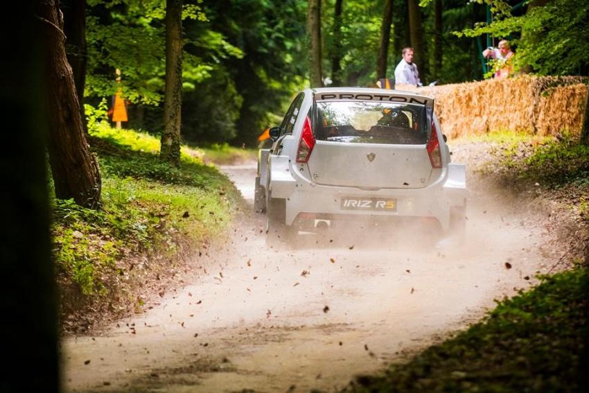 VIDEO: Proton Iriz R5 di Goodwood FOS Rally Stage Image #678346