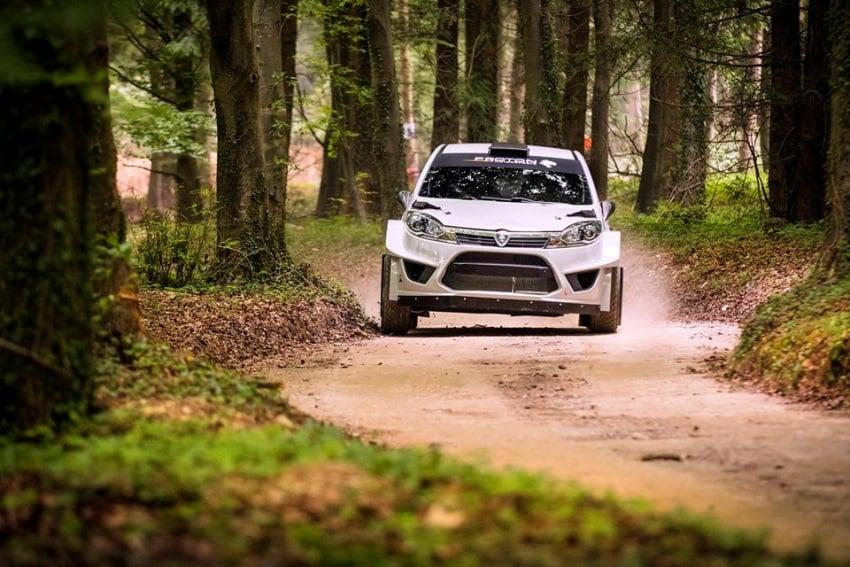 VIDEO: Proton Iriz R5 di Goodwood FOS Rally Stage Image #678344