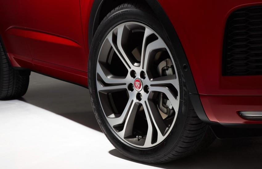 Jaguar E-Pace diperkenalkan – SUV kompak dengan pilihan dua enjin Ingenium, kuasa antara 150 ke 300 PS Image #683206
