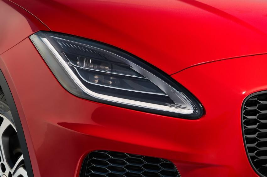 Jaguar E-Pace diperkenalkan – SUV kompak dengan pilihan dua enjin Ingenium, kuasa antara 150 ke 300 PS Image #683210