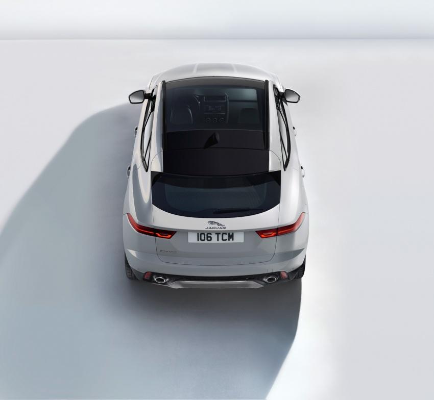 Jaguar E-Pace diperkenalkan – SUV kompak dengan pilihan dua enjin Ingenium, kuasa antara 150 ke 300 PS Image #683240