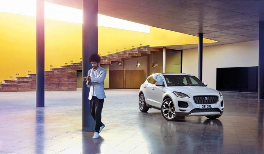 Jaguar E-Pace diperkenalkan – SUV kompak dengan pilihan dua enjin Ingenium, kuasa antara 150 ke 300 PS Image #683250