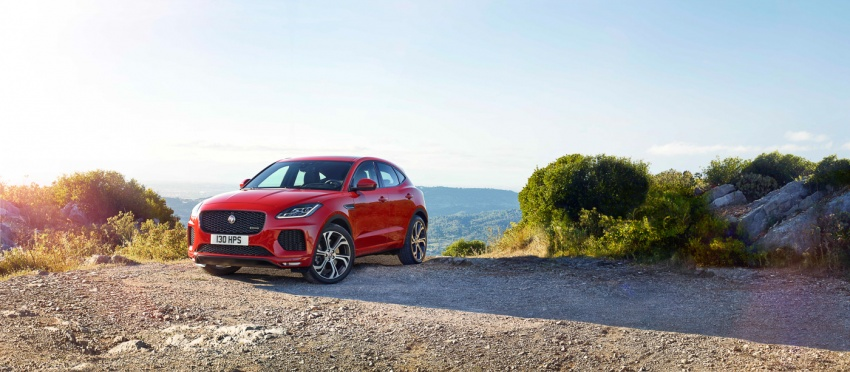 Jaguar E-Pace diperkenalkan – SUV kompak dengan pilihan dua enjin Ingenium, kuasa antara 150 ke 300 PS Image #683251
