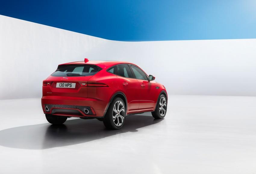 Jaguar E-Pace diperkenalkan – SUV kompak dengan pilihan dua enjin Ingenium, kuasa antara 150 ke 300 PS Image #683234