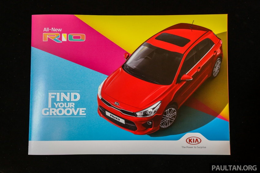 2017 Kia Rio 1.4 MPI launched in Malaysia – RM80k Image #685888