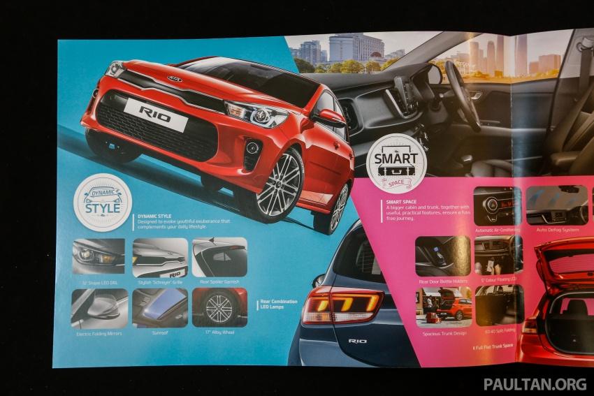 2017 Kia Rio 1.4 MPI launched in Malaysia – RM80k Image #685889