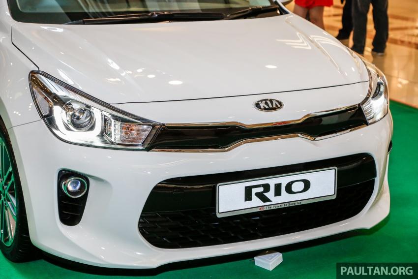 Kia Rio 1.4 MPI 2017 dilancarkan di Malaysia – RM80k Image #686053