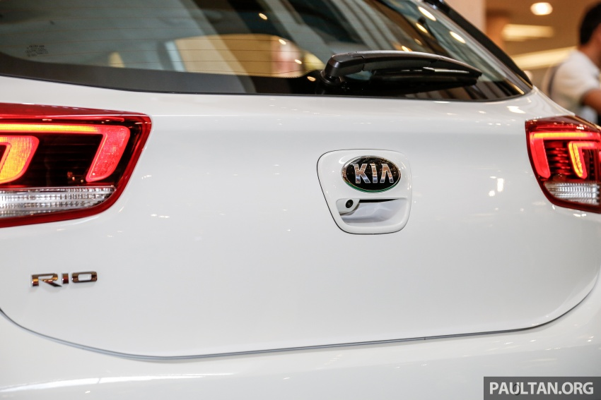 Kia Rio 1.4 MPI 2017 dilancarkan di Malaysia – RM80k Image #686069