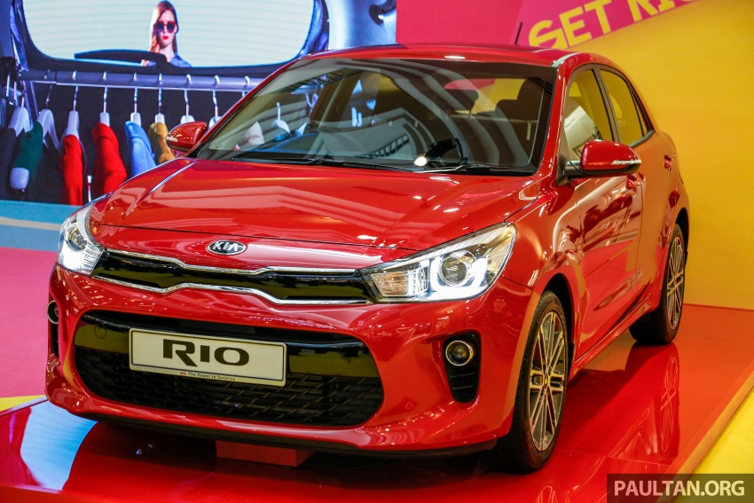 Kia Rio 1.4 MPI 2017 dilancarkan di Malaysia – RM80k Image #686042