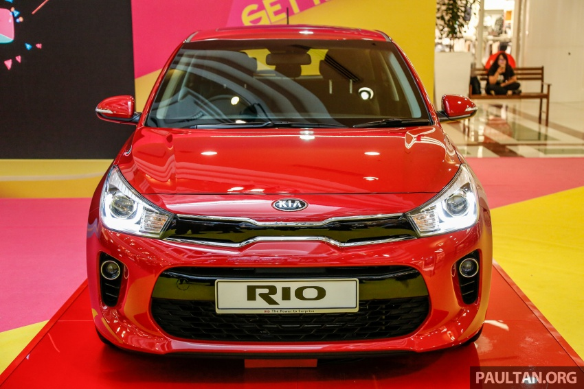 Kia Rio 1.4 MPI 2017 dilancarkan di Malaysia – RM80k Image #686045