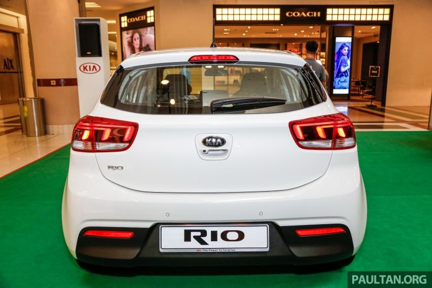 Kia Rio 1.4 MPI 2017 dilancarkan di Malaysia – RM80k Image #686046