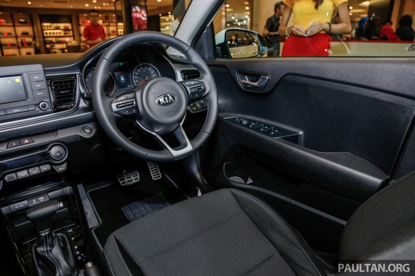 Kia Rio 1.4 MPI 2017 dilancarkan di Malaysia – RM80k Image #686091