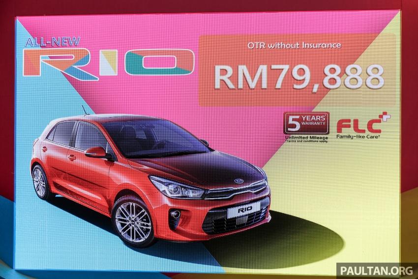 2017 Kia Rio 1.4 MPI launched in Malaysia – RM80k Image #685913