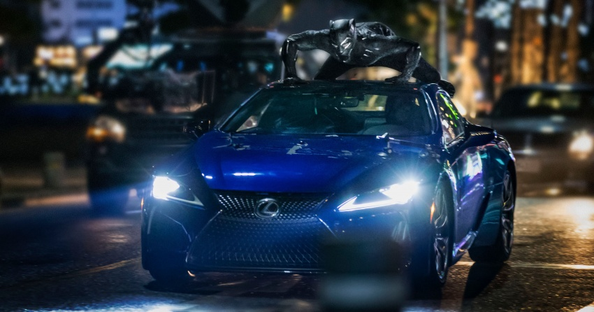 Lexus LC 500 to be showcased in <em>Black Panther</em> movie Image #685566