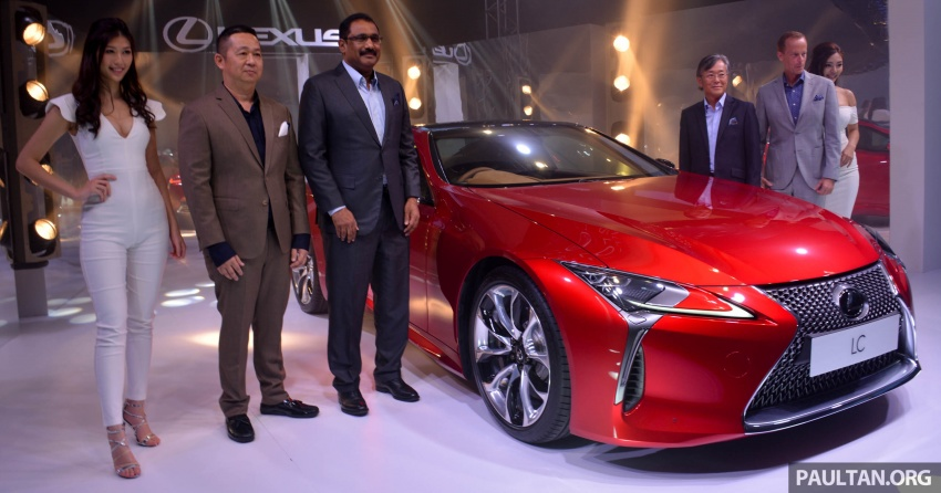 Lexus LC 500 officially launched in Malaysia – 5.0 litre V8, 10-speed auto, 0-100 km/h in 4.4 seconds, RM940k Image #688188