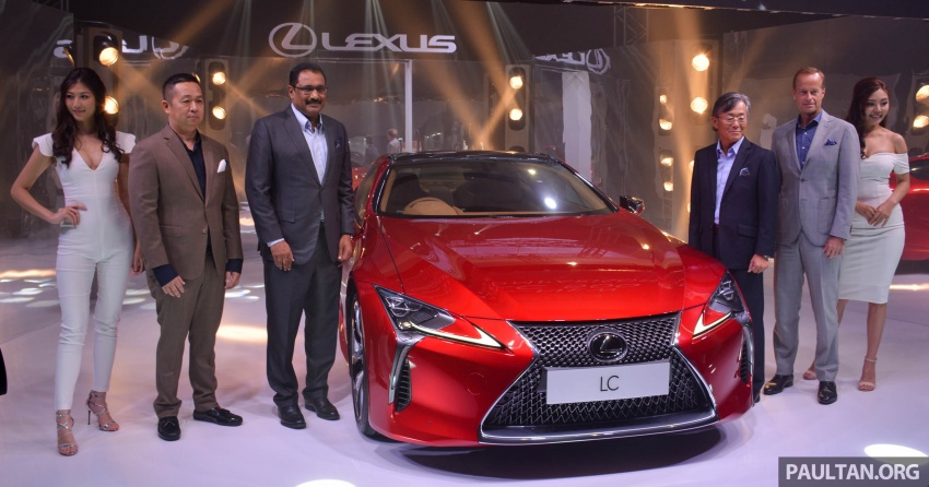 Lexus LC 500 officially launched in Malaysia – 5.0 litre V8, 10-speed auto, 0-100 km/h in 4.4 seconds, RM940k Image #688186