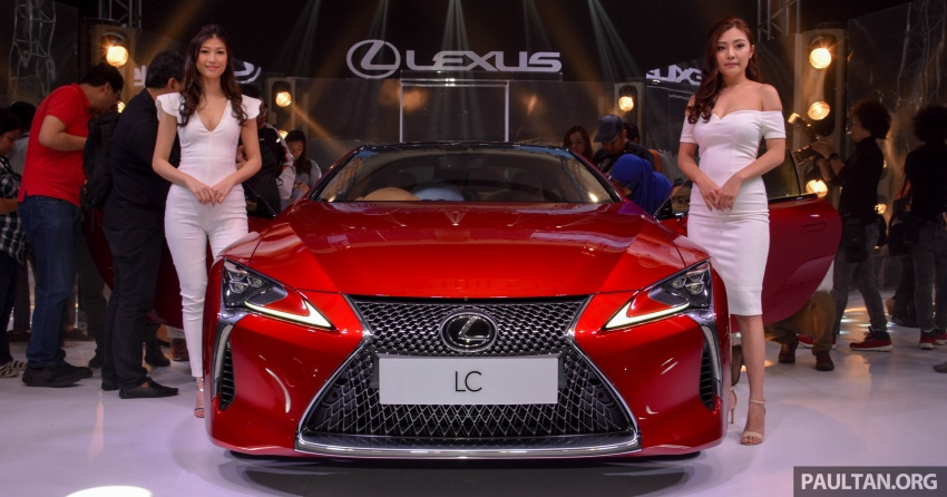 Lexus LC 500 officially launched in Malaysia – 5.0 litre V8, 10-speed auto, 0-100 km/h in 4.4 seconds, RM940k Image #688195