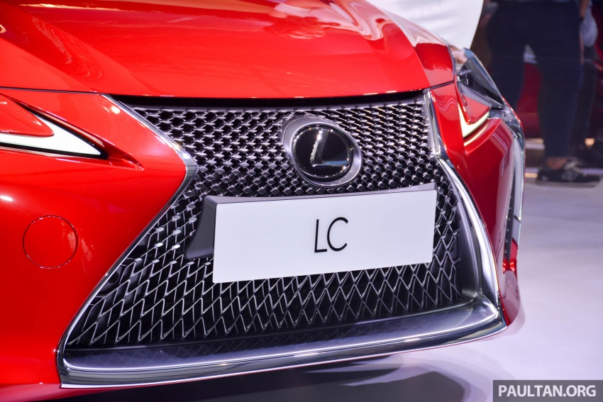 Lexus LC 500 officially launched in Malaysia – 5.0 litre V8, 10-speed auto, 0-100 km/h in 4.4 seconds, RM940k Image #688197