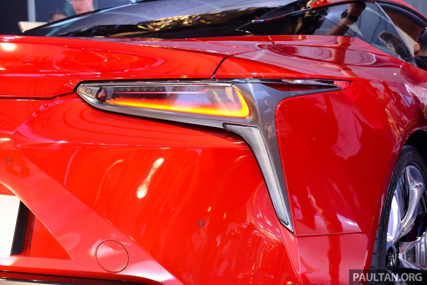 Lexus LC 500 officially launched in Malaysia – 5.0 litre V8, 10-speed auto, 0-100 km/h in 4.4 seconds, RM940k Image #688199