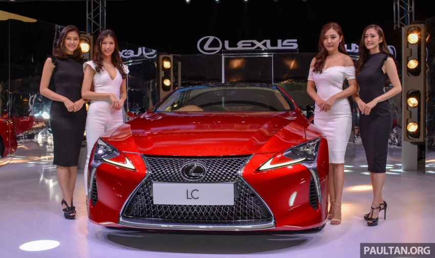 Lexus LC 500 officially launched in Malaysia – 5.0 litre V8, 10-speed auto, 0-100 km/h in 4.4 seconds, RM940k Image #688342