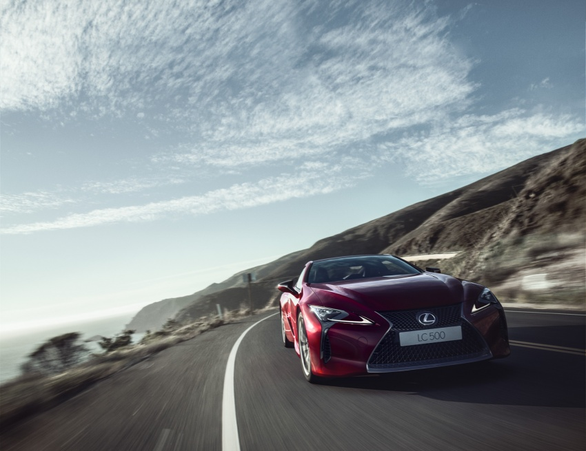 Lexus LC 500 officially launched in Malaysia – 5.0 litre V8, 10-speed auto, 0-100 km/h in 4.4 seconds, RM940k Image #688214