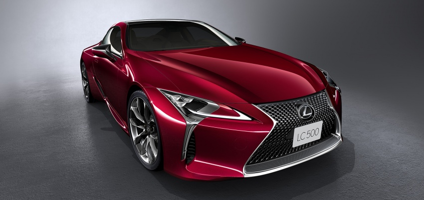 Lexus LC 500 officially launched in Malaysia – 5.0 litre V8, 10-speed auto, 0-100 km/h in 4.4 seconds, RM940k Image #688224