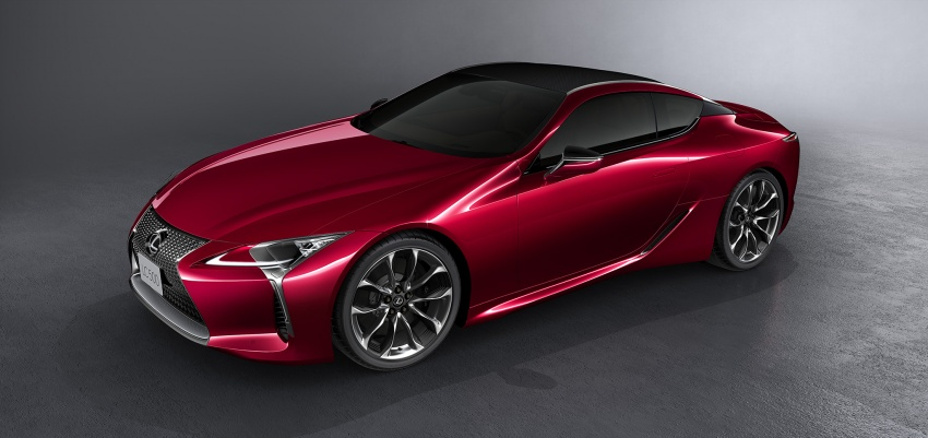 Lexus LC 500 officially launched in Malaysia – 5.0 litre V8, 10-speed auto, 0-100 km/h in 4.4 seconds, RM940k Image #688225