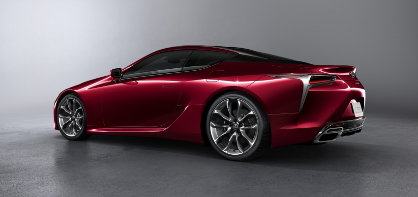Lexus LC 500 officially launched in Malaysia – 5.0 litre V8, 10-speed auto, 0-100 km/h in 4.4 seconds, RM940k Image #688226