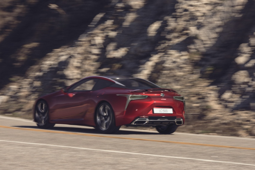 Lexus LC 500 officially launched in Malaysia – 5.0 litre V8, 10-speed auto, 0-100 km/h in 4.4 seconds, RM940k Image #688232