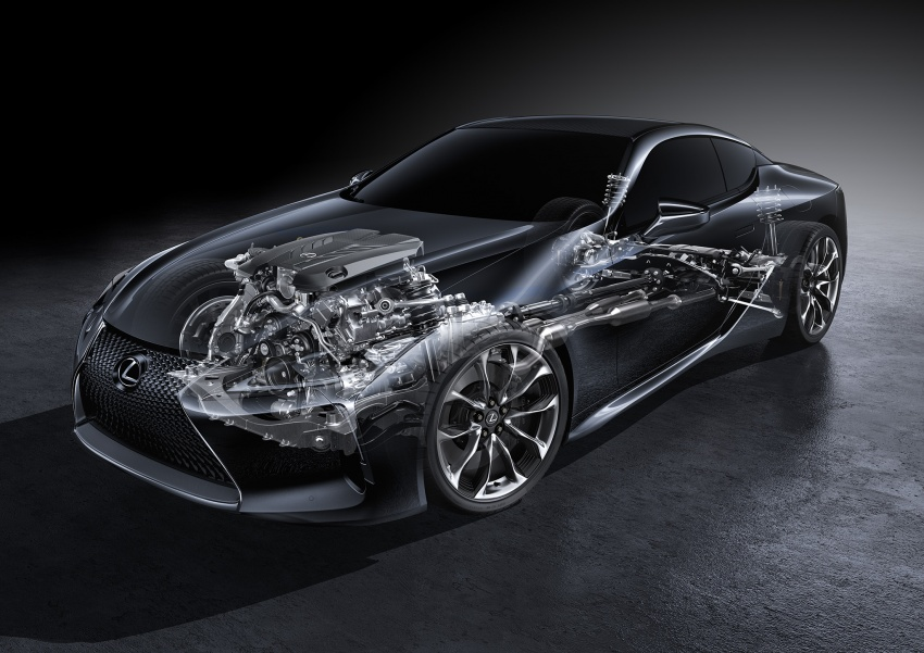 Lexus LC 500 officially launched in Malaysia – 5.0 litre V8, 10-speed auto, 0-100 km/h in 4.4 seconds, RM940k Image #688241