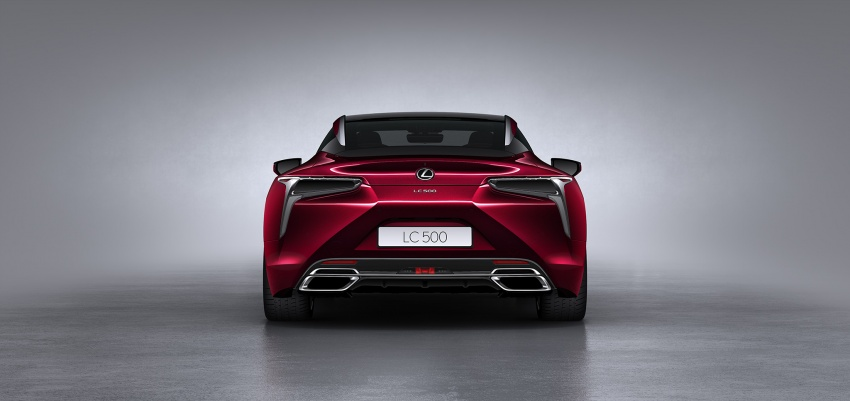 Lexus LC 500 officially launched in Malaysia – 5.0 litre V8, 10-speed auto, 0-100 km/h in 4.4 seconds, RM940k Image #688221